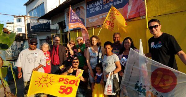 Diálogo com a comunidade do bairro Rubem Berta
