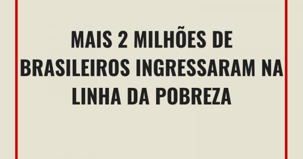 Um Brasil cada vez mais desigual