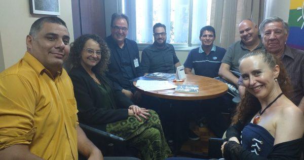 Conselho Estadual da Cultura apresenta demandas a Luciana Genro