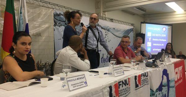 Luciana Genro e Pedro Ruas reforçam apoio à Corsan e seus trabalhadores em encontro do Sindiágua