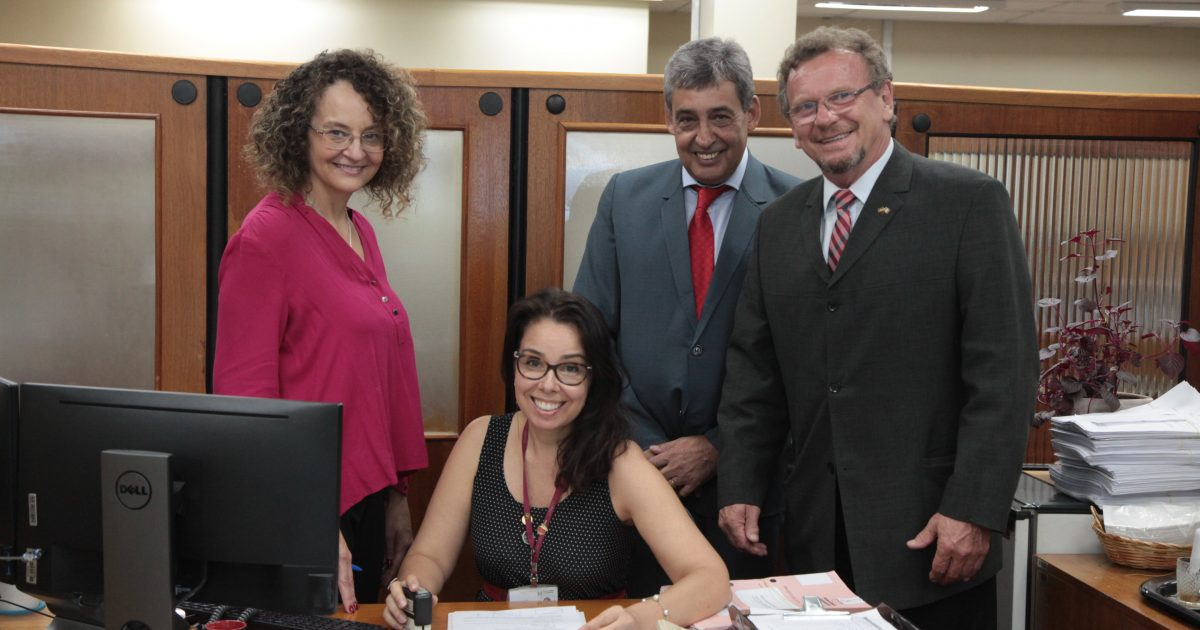 Luciana Genro, Luiz Fernando Mainardi e Sebastião Melo
