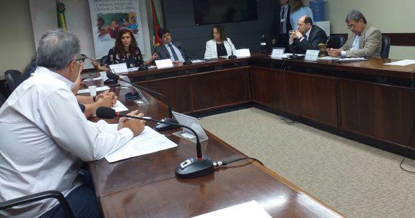 Luciana Genro alerta para falta de PPCI nas escolas na primeira reunião da Comissão de Educação
