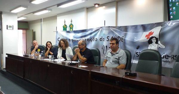 Luciana Genro solicitará audiência com secretária de Saúde para participação de trabalhadores em comissão