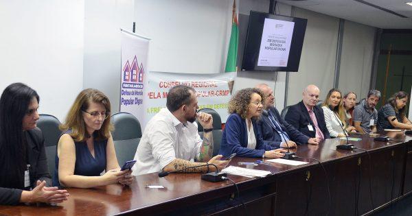 Deputada Luciana Genro lança Frente Parlamentar em Defesa da Moradia Popular Digna