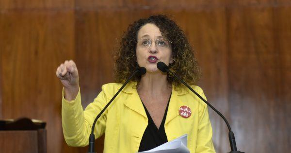 Luciana Genro responde a deputado do MDB