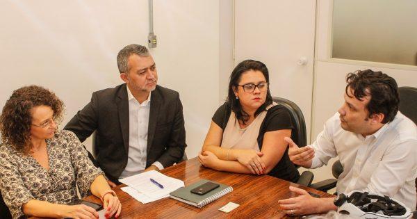 Luciana Genro participa de reunião sobre Mina Guaíba com Fepam e secretaria do Meio Ambiente