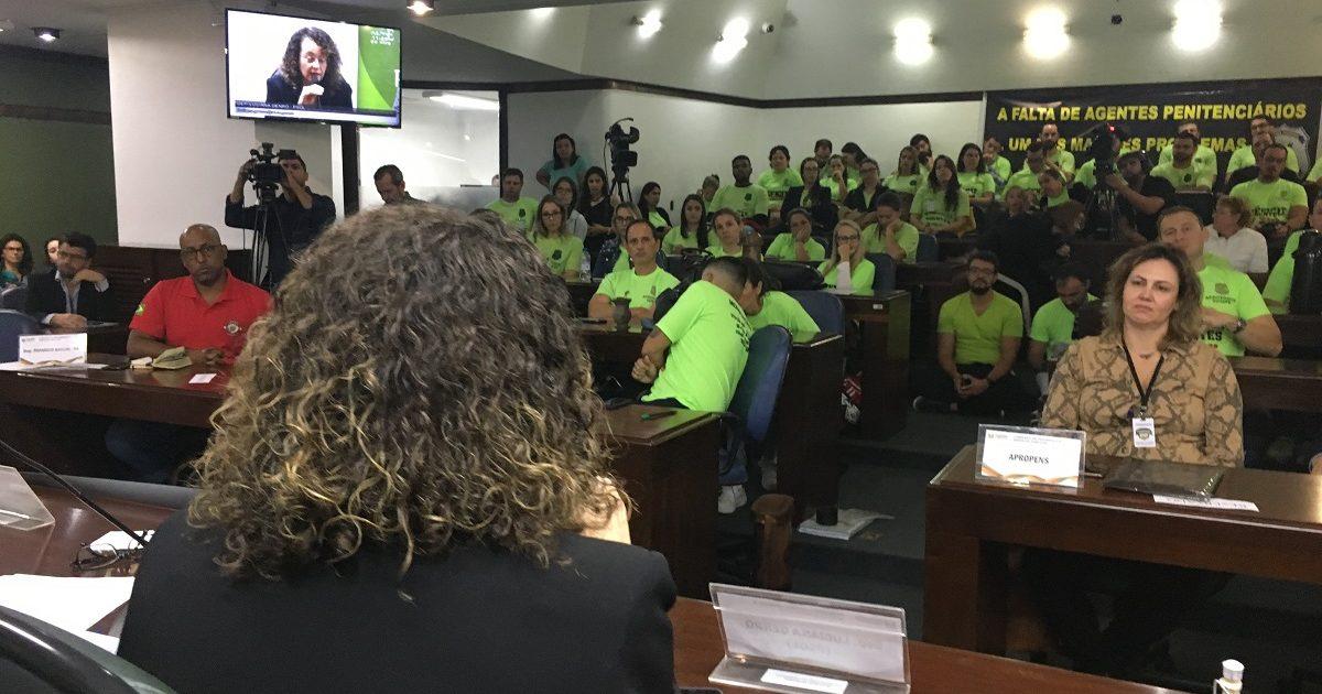 Audiência Pública aprovados Susepe e Polícia Civil