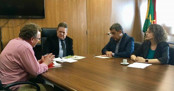 Deputados apresentam a vice-governador do RS projeto de transparência na segurança pública