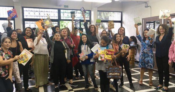 Livraço em defesa das bibliotecas nas escolas estaduais