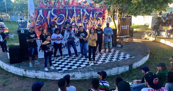Organização popular, rap e luta