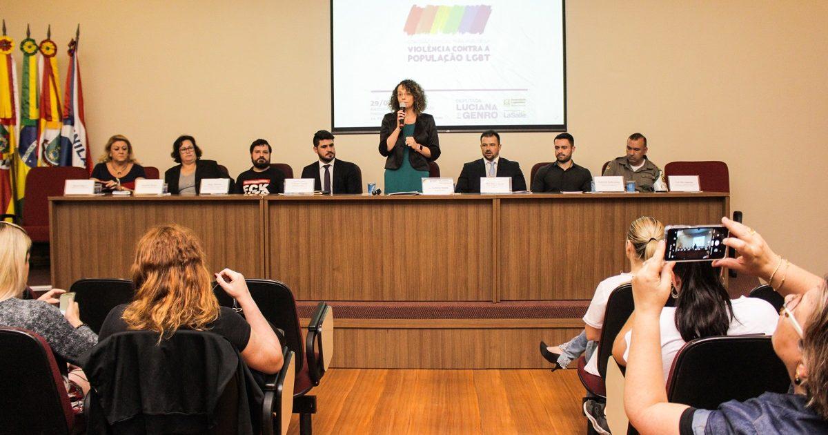 Audiência Pública em Canoas sobre violência contra a população LGBT