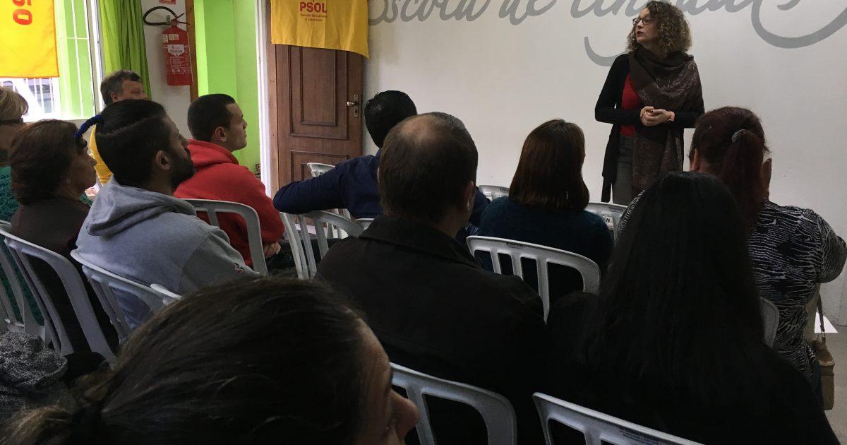 Plenária do PSOL reuniu militantes e filiados em Alvorada