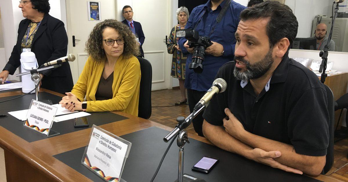 Professor Alexandre Rosa teve sua casa alvejada por tiros. | Foto: Samir Oliveira