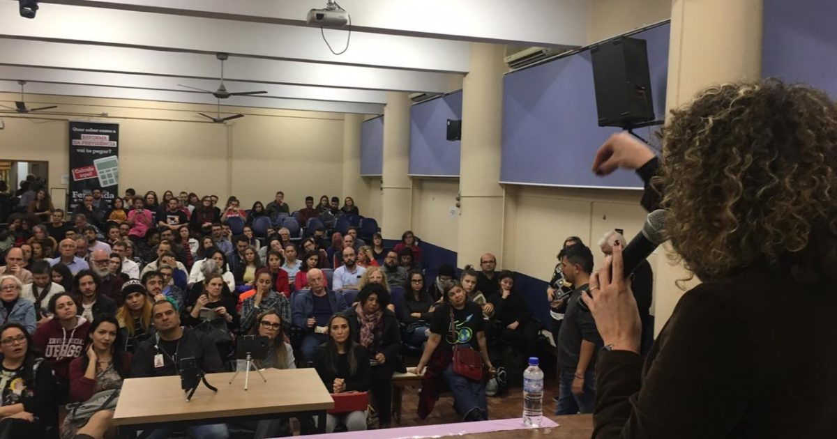 Audiência Pública sobre Reforma da Previdência em Porto Alegre