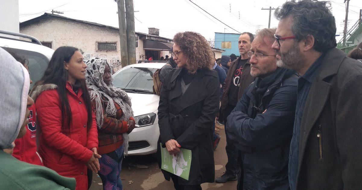 Dialogo com moradores da Vila Nazaré contra o despejo arbitrário das famílias.
