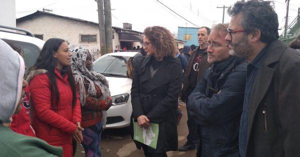 Ativista alemão se junta à luta dos moradores da Vila Nazaré no processo contra a Fraport