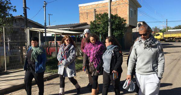 Luciana Genro visita ocupações em Cachoeirinha na luta por regularização
