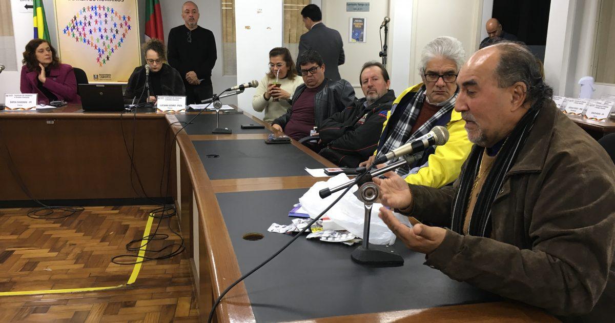 Cleusi Coelho relatou agressão sofrida em audiência pública | Foto: Samir Oliveira
