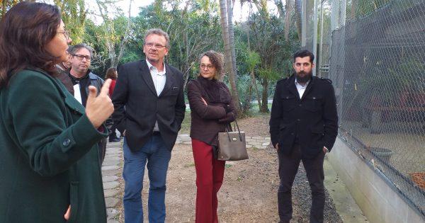 Deputados visitam Fundação Zoobotânica