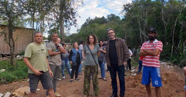 Área das ocupações Nova Mariante, Rincão dos Coqueiros e Vitória estará disponível para compra