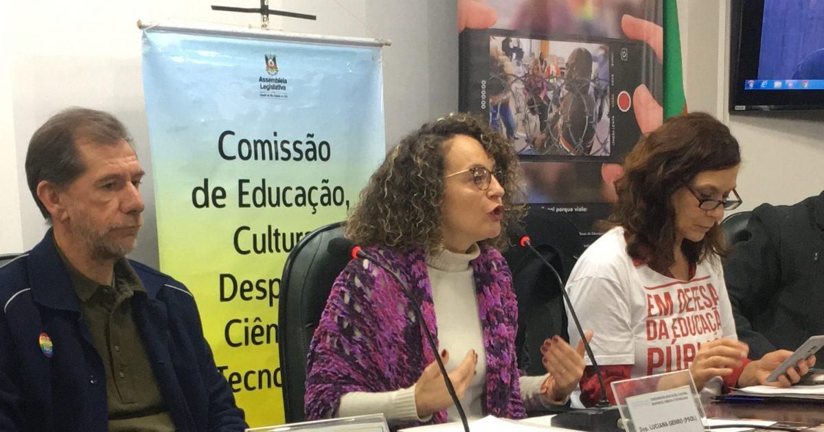 Audiência contou com a participação de integrantes do Fórum de Combate à Intolerância e ao Discurso de Ódio | Foto: Juliana Almeida