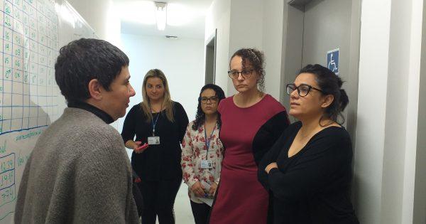 Deputada Luciana Genro denuncia situação do Centro de Referência da Mulher em Porto Alegre