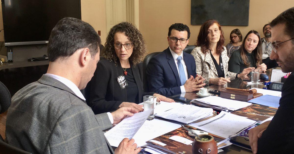 Deputada Luciana Genro em reunião com o prefeito Marchezan   Foto Juliana Almeida
