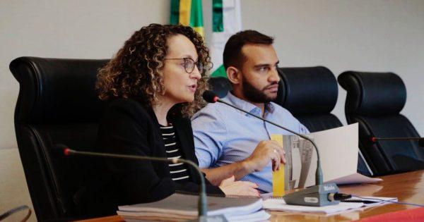 Luciana Genro apresenta relatório LGBT em Brasília com Fábio Félix