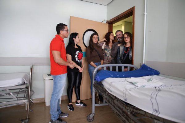 Falta de funcionários faz com que unidades prontas para receber pacientes não possam operar. | Foto: Álvaro Andrade