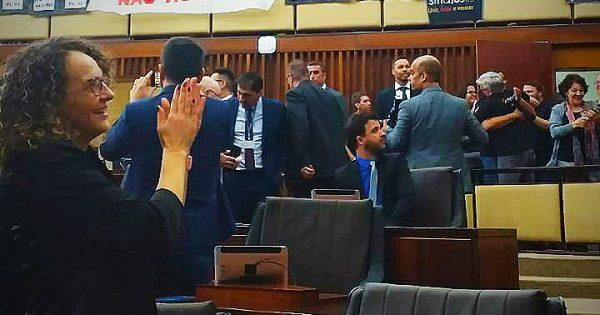Mobilização dos servidores do Judiciário derrota o PL 93