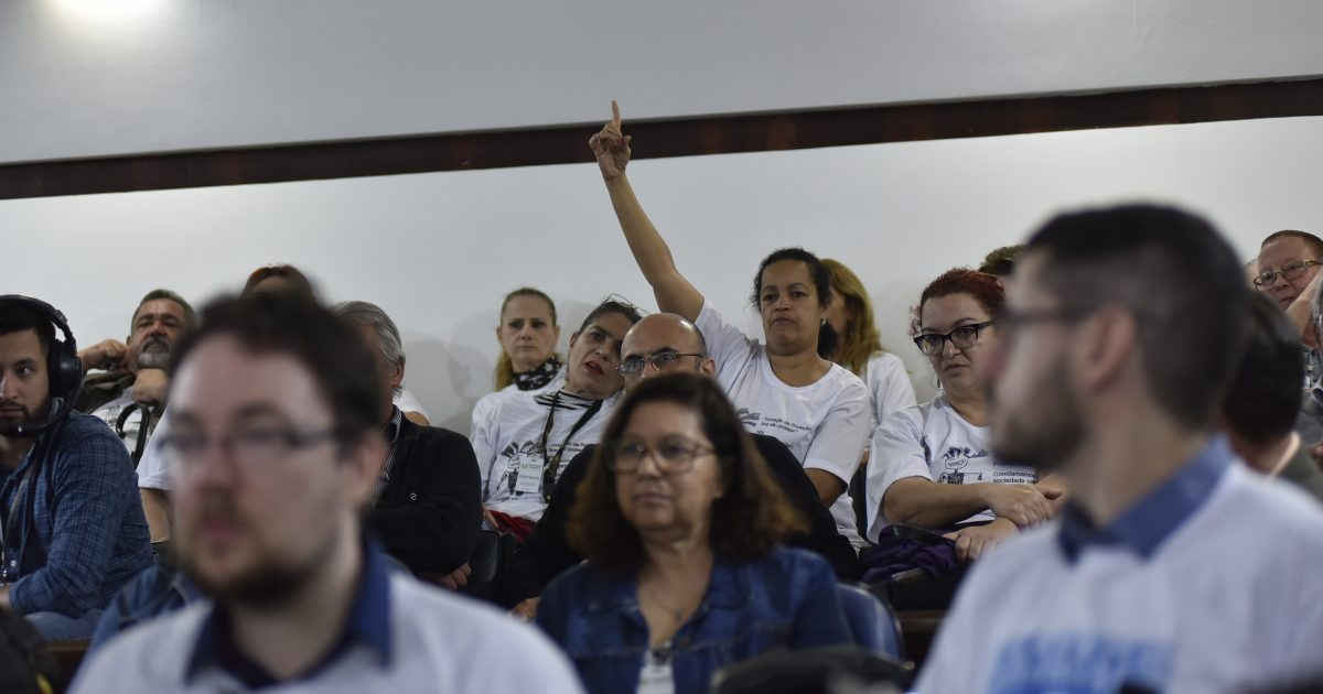 Servidoras da FPE solicitaram apoio dos deputados para lutar contra o desmonte pretendido pelo governador Eduardo Leite | Foto: Vinicius Reis