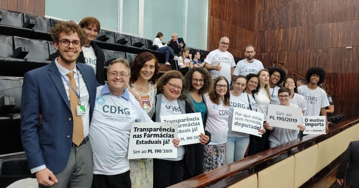 Dia da aprovação do projeto da Transparência na Farmácia do Estado | Foto: Samir Oliveira
