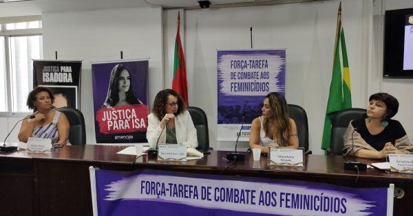 Seminário discute combate a feminicídios no Rio Grande do Sul e situação da rede de proteção às mulheres