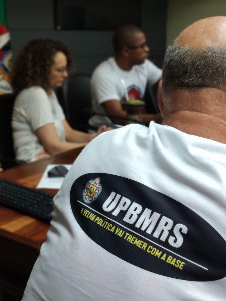 Movimento recém lançado busca unir praças em defesa de seus direitos. | Foto: Samir Oliveira