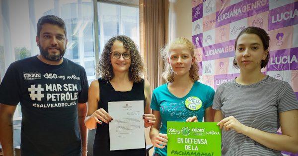 Luciana Genro apresenta projeto para proibir o fracking no Rio Grande do Sul
