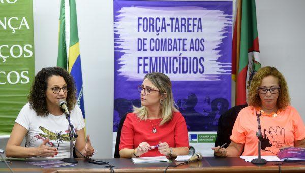 Luciana Genro aprovou emenda de R$ 500 mil para prevenção e equipamentos públicos destinados às mulheres vítimas de violência. | Foto: Vinicius Reis | Agência ALRS