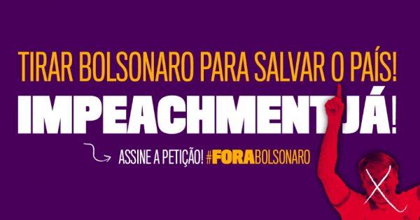 Pedido de impeachment de Bolsonaro apresentado por deputados do PSOL bate 1 milhão de assinaturas em petição