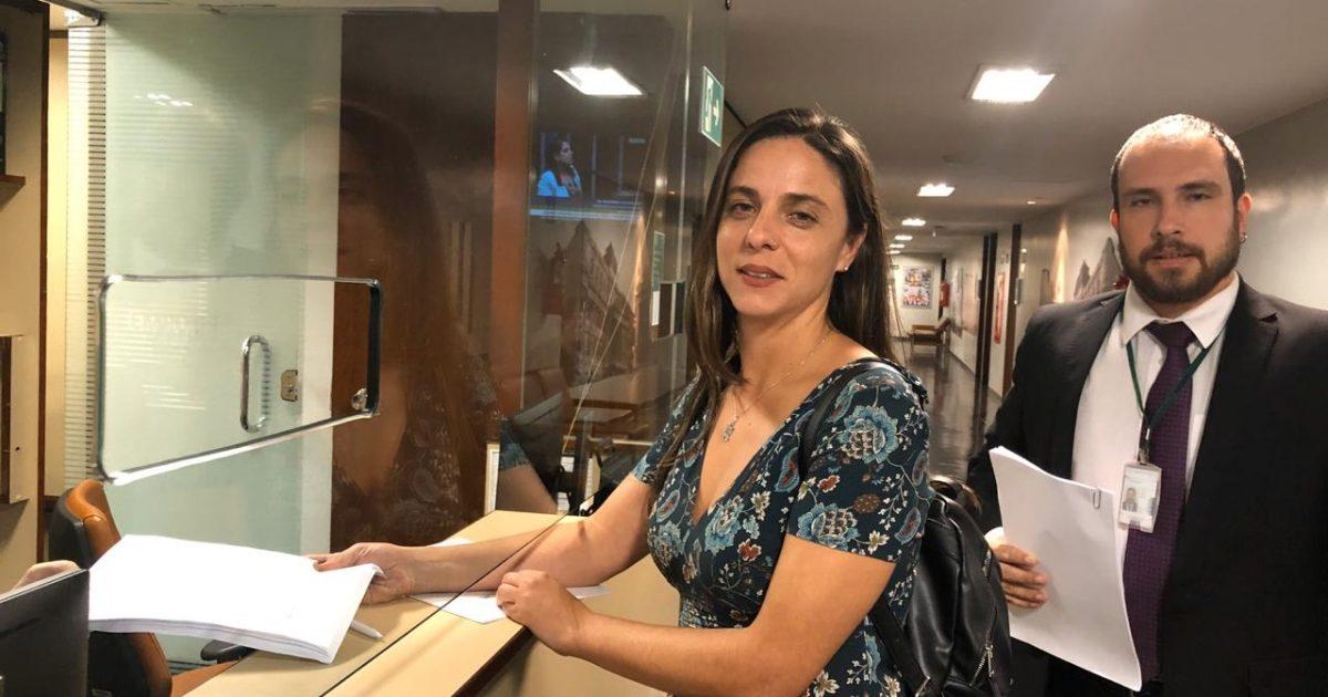 Deputada federal Fernanda Melchionna (PSOL-RS) foi uma das autoras do pedido de impeachment de Jair Bolsonaro | Foto: Paola Rodrigues