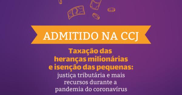 CCJ admite projeto da deputada Luciana Genro (PSOL) para taxar heranças milionárias