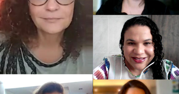 Deputada Luciana Genro tem reunião com equipe do Departamento de Políticas para Mulheres