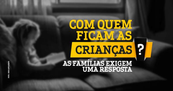 Luciana Genro cobra solução do governo a famílias com crianças em casa