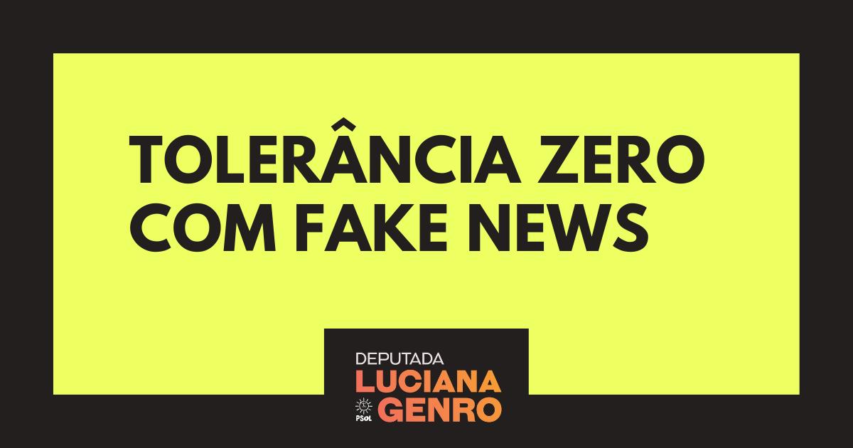Tolerância zero com FAKE NEWS (1)