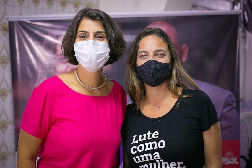 Apoio do PSOL e de Fernanda Melchionna a Manuela D'Ávila foi confirmado nesta segunda (16/11) | Foto: Guilherme Santos