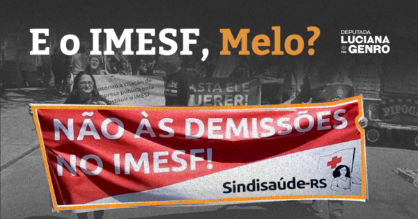 PSOL solicita reunião com Melo para falar sobre IMESF