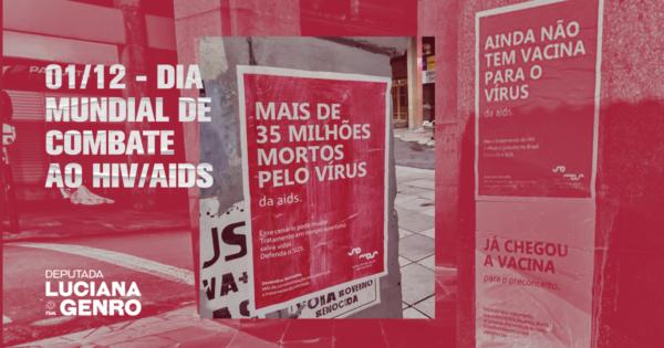 1 de dezembro: Dia Mundial de Combate ao HIV/AIDS