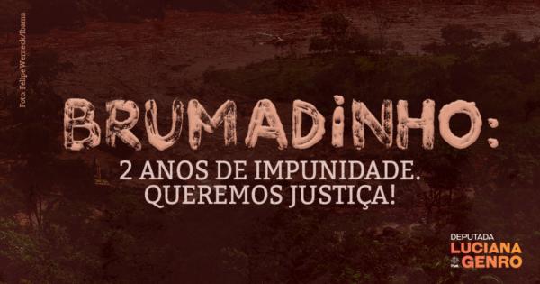 Brumadinho: 2 anos de impunidade. Queremos Justiça!