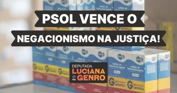 """Justiça acata ação do PSOL e proíbe distribuição de """"Kit Covid"""" em Porto Alegre"""
