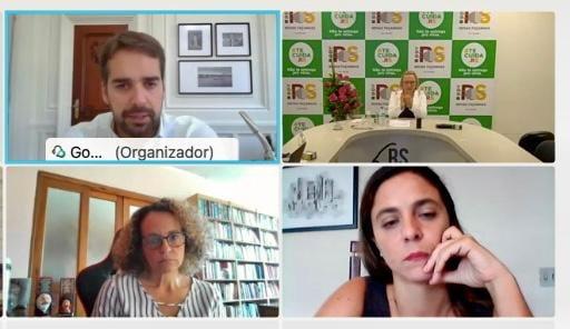 Luciana Genro e Fernanda Melchionna se reúnem com Eduardo Leite e cobram auxílio emergencial gaúcho