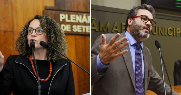 Luciana Genro e Roberto Robaina cobram máscaras PPF2/N95 a trabalhadores rodoviários