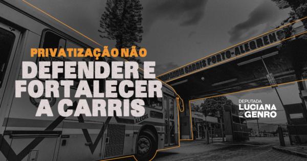 Defender e fortalecer a Carris, o transporte público e seus trabalhadores